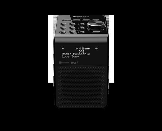 Radio design, RDS, 5 touches de présélection, réception: récepteur DAB, DAB+, FM, horloge, Bluetooth, prise casque d'écoute, fonctionne sur piles, alimentation secteur
